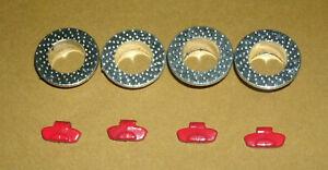 1/18 Scale Brake Rotor & Caliper Diorama Set - Plastic Miniature Car Model Parts