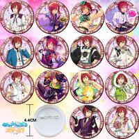 14PCS Anime Ensemble Stars Sakasaki Natsume Badge Itabag Pin Button Gift