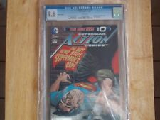 ACTION COMICS #0 THE NEW 52 - VARIANT COVER! CGC 9.6!