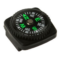 Compass with Holster Watch Band Paracord Bracelet Compass black color