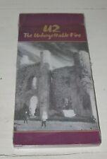 U2 Unforgettable Fire SEALED Longbox CD 1984 RARE