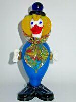 Murano Italy Style Art Glass Clown Figurine