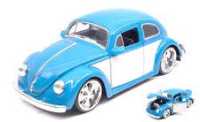 Volkswagen VW Beetle 1959 Blue / Cream 1:24 Model JADA TOYS