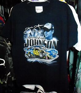 VINTAGE CHASE #48 LOWES BLUE YOUTH TEE SHIRT JIMMIE JOHNSON KIDS MEDIUM NWT