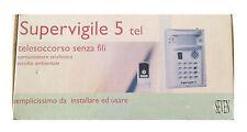 SEVEN SUPERVIGILE 5 TEL TELESOCCORSO SENZA FILI CON ASCOLTO AMBIENTALE