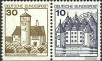 BRD (BR.Deutschland) W62I postfrisch 1977 Burgen und Schlösser