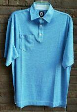 Foot Joy Blue Mens Golf Polo Shirt Size L