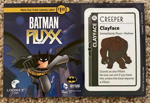 Batman Fluxx Clayface Promo - NEW - Looney Labs Gen Con Pax