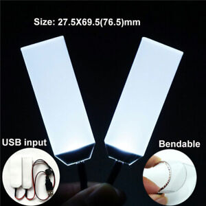 DIY Bendable LED Light Eyes Kits for Iron Man Helmet Cosplay Accessories Props L
