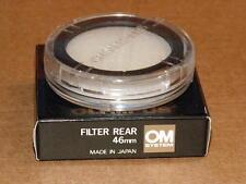 OLYMPUS OM ZUIKO 46mm NEUTRAL REAR FILTER 350mm F2.8 250mm F2 NEW IN BOX RARE