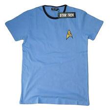 OFFICIAL Star Trek Engineer Science Medical Uniform Red Blue Yellow T-Shirt  16C
