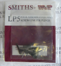 Smiths LP5 Couplings Etched Brass Dummy Screw Link Couplings Assembled (Pk4)