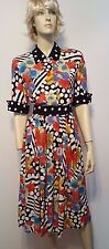 Vintage Componix Outfit Skirt & Top Sz 4 Floral Polka Dot Awesome!  Rayon