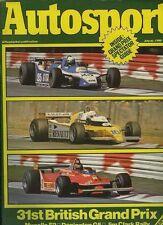 Autosport July 10th 1980 *Mugello F2 & AC 3000ME Test*