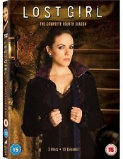 LOST GIRL - THE COMPLETE FOURTH SEASON DVD BOX SET - 13 Episode on 3 DISCS*****