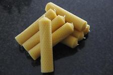 8 x Bienenwachskerzen L 100 % Bienenwachs Kerzen 140 x 32mm Handarbeit aus D