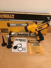 Dewalt DCE580N 18V XR 600ml Caulking Caulk Gun Body Only - 3 Years WARRANTY!
