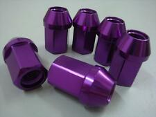 20 OPEN 35MM PURPLE  ALUMINUM RACING LUG NUT For HONDA CIVIC ACURA INTEGRA