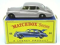 Matchbox Lesney No.44b Rolls-Royce Phantom V In Type 'D2' Series 'New Model' Box