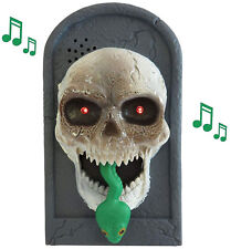 Halloween Party Decor Skeleton Musical Door Bell Creepy Novelty Knocker