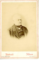 Adolphe Thiers vintage print, Carte cabinet Adolphe Thiers, né le 15 avril 1797