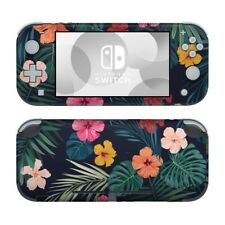 Nintendo Switch Lite Skin - Tropical Hibiscus - Decal Sticker DecalGirl
