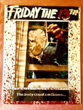 Jason Voorhees Picture 11 By 14 In Large, Friday The 13th Photo