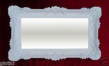 MIROIR MURAL BAROQUE miroir antique 97x57 badspiegel-weiss brillant Reg 3074-1
