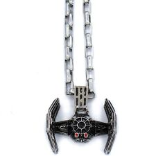 $55 Han Cholo x Star Wars Tie Fighter Pendant Necklace silver HCSWP29SILV