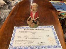 Tom Clark Christmas Gnome Figure Santa's Home Coa