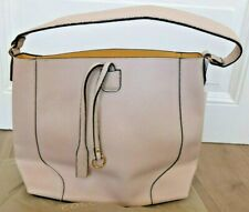 Carpisa bildschöne Hand Tasche Shopper 40x30x12 cm Creme NEU