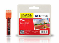 JETTEC C6R HIGH QUALITY REMANUFACTURED CANON BCI-6R RED INK CARTRIDGE