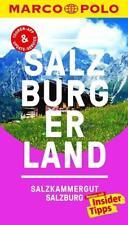 -- Salzburger Land Salzburg Salzkammergut  2016 + Karte Reiseführer Marco Polo