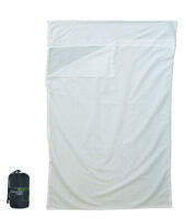 Yellowstone Double Poly Cotton Sleeping Bag Liner White