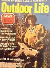 Outdoor Life Magazine Big Buck In The Afternoon October 1974 121917nonrh