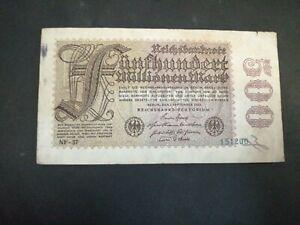 Germany 500 Million Mark 1923