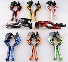 Foldable Extendable Brake clutch levers for Suzuki GSF1200 BANDIT 1996-2000