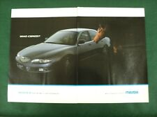 MAZDA XEDOS 6 1993 2 PAGE 2 X A4 ADVERT POSTER READY TO FRAME C
