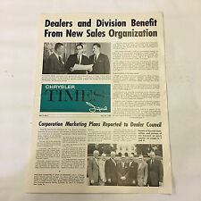 Chrysler Times Imperial June 24, 1959 Magazine Periodical