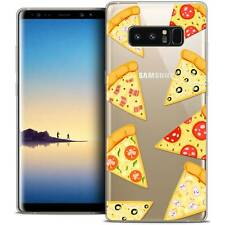 "Coque Crystal Gel Pour Samsung Galaxy Note 8 (6.3"") Extra Fine Souple Foodie Piz"