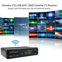 Satellite TV Receiver Gtmedia V7S HD 1080P with USB WIFI Support DVB-S2 Key (EU)