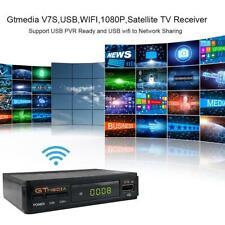Satellite TV Receiver Gtmedia V7S HD 1080P with USB WIFI Support DVB-S2 Key (EU)