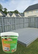 Palace Fence Guard Lunar Grey 5L- 25% Extra Free Garden Fence & Shed treatment.