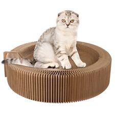 Corrugated Scratch Board Pad Scratcher Bed Mat Claws Care Toy Ki Kitten Pet Cat