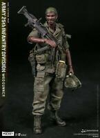 Damtoys 1/12 Pocket Elite SeriesArmy 25th Infantry Division M60 Gunner PES01...