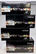 New OEM Lexmark BK/C/Y/M C789H1CG/C780H1YG/C780H1KG/C780H1MG Print Cartridge