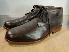 Sutro Footwear San Francisco Mens Brown Leather Chukka Ankle Boot Size 10 D