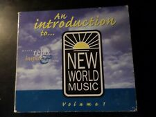 CD ALBUM - NEW WORLD MUSIC - AN INTRODUCTION TO - VOL 1