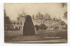 Callender House, Falkirk - old postcard