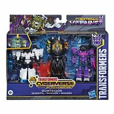 Transformers Cyberverse Quintesson Invasion Pack Shockwave Prowl Hasbro Figure